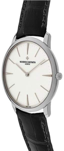 Vacheron Constantin 81180/000g-9117 Patrimony Grand Taille 18K White Gold 40mm Watch 3