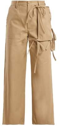 MM6 MAISON MARGIELA Utility-pocket cotton chino trousers
