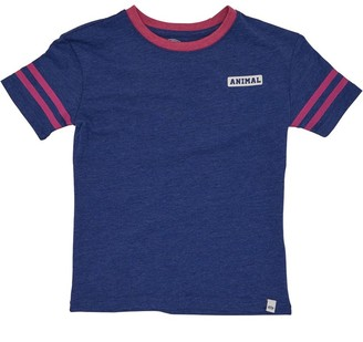 2c1c2b8f1c30e Animal Infant Girls Squad Deluxe Graphic T-Shirt Admiral Blue Marl