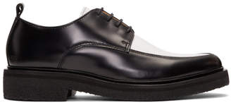 Ami Alexandre Mattiussi Black and White Creeper Derbys