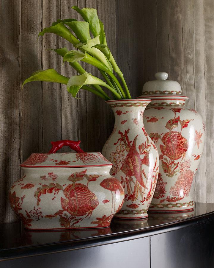 Horchow Aquatic Vase