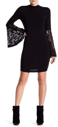 Romeo & Juliet Couture Lace Sleeve Dress