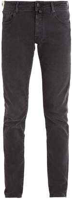 Jacob Cohen Tailored mid-rise slim-leg jeans