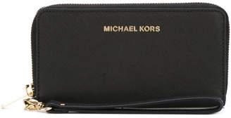 MICHAEL Michael Kors Leather Wristlet Pouch