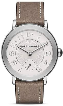 MARC JACOBS Riley Leather Strap Watch, 36mm $175 thestylecure.com