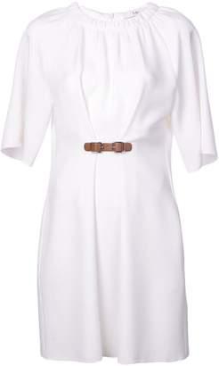 Tibi Mica shirred neck dress