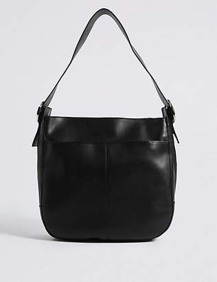 M&S Collection Leather Hobo Bag