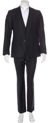 Versace Wool Notch-Lapel Suit