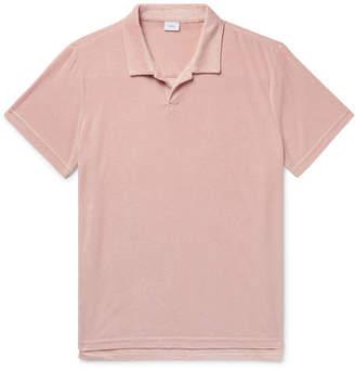 Onia Shaun Modal-Blend Terry Polo Shirt