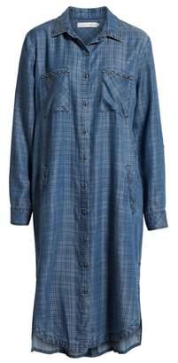 BILLY T Maxi Shirtdress