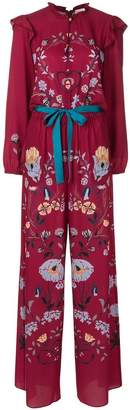 RED Valentino floral embroidered jumpsuit