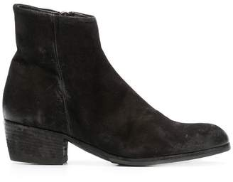 Pantanetti distressed effect boots