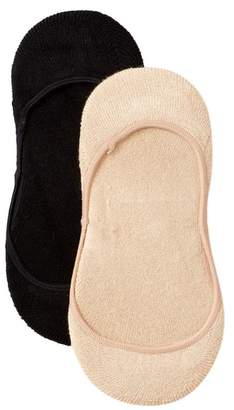 Shimera Pillow Sole No Show Socks - Pack of 2