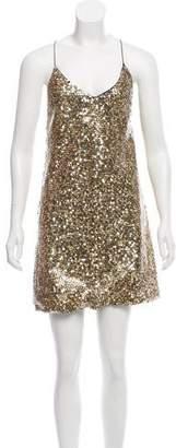Marc Jacobs Sequin Mini Dress