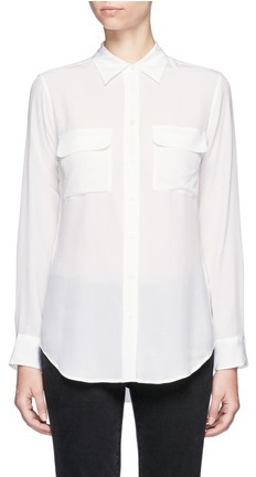 Equipment Equipment 'Slim Signature' silk shirt