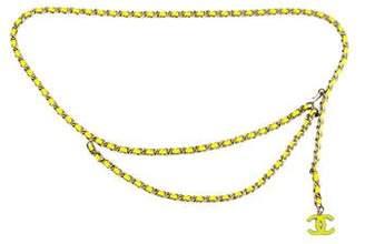 Chanel Bijoux CC Chain-Link Belt