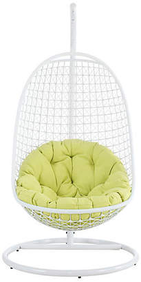 One Kings Lane Patio Swing Chair - Green