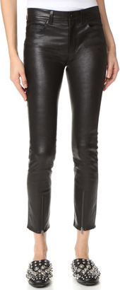 Helmut Lang Zip Leather Pants $1,095 thestylecure.com