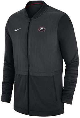 Nike Men Georgia Bulldogs Elite Hybrid Full-Zip Jacket