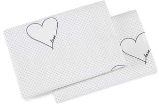 ED Ellen Degeneres Love Hearts Pillowcases