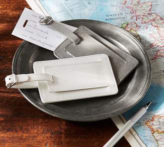 Pottery Barn Personalized Mckenna Leather Luggage Tag
