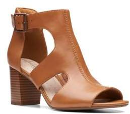 Clarks Collection By Deva Heidi Heeled Leather Sandals
