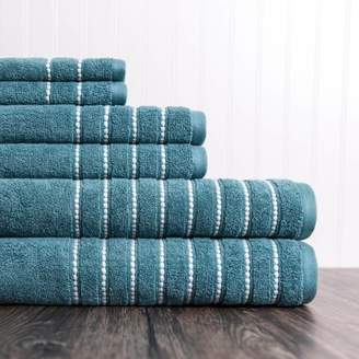 American Dawn Burke 6 Piece Towel Set in Bristol Blue