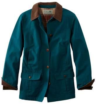 L.L. Bean L.L.Bean Women's Adirondack Barn Coat, Flannel-Lined