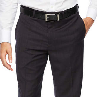 COLLECTION Collection by Michael Strahan Collection By Michael Strahan Plaid Classic Fit Stretch Suit Pants