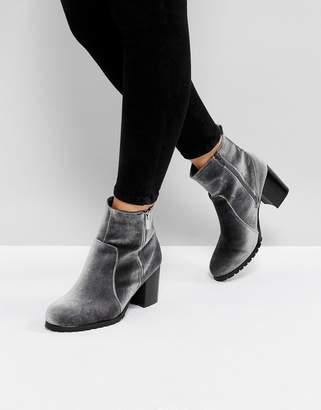 Head Over Heels by Dune Pipaa Velvet Boots
