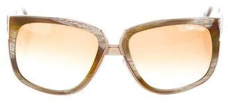 Tom Ford Carine Square Sunglasses