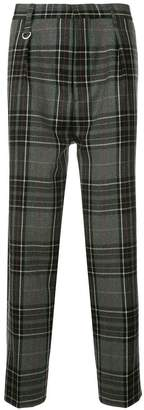 Monkey Time Checked Loose-Fit Trousers