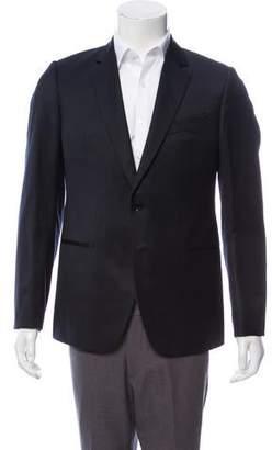 Armani Collezioni Two-Button Woven Blazer