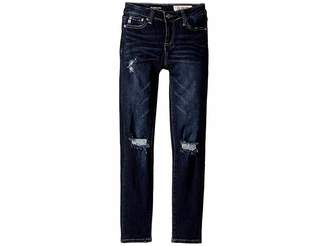 AG Adriano Goldschmied Kids Super Skinny Jeans in Indigo Blast (Big Kids)