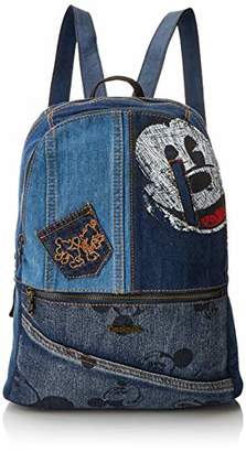 Desigual Bols_exotic Mickey Milan, Women's Backpack Handbag,13x39.5x31 cm (B x H T)