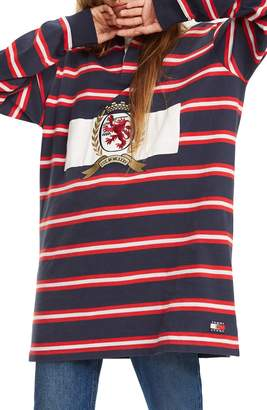 Tommy Jeans Crest Capsule Stripe Rugby Dress