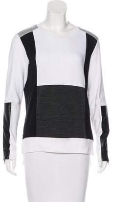 Aiko Colorblock Jersey Sweatshirt