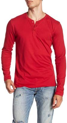 MTL APPAREL Long Sleeve Button Henley