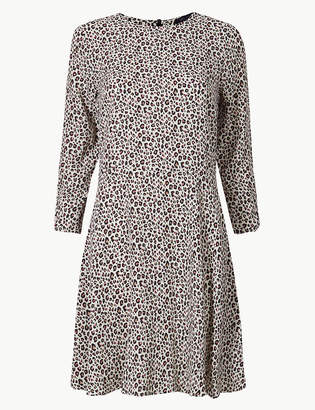 Marks and Spencer Animal Print Fit & Flare Mini Dress