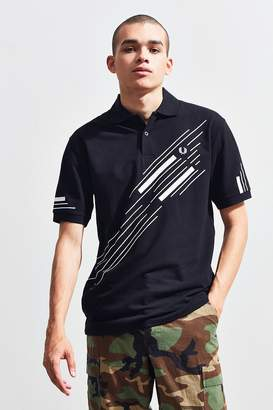 Fred Perry Abstract Graphic Pique Polo Shirt