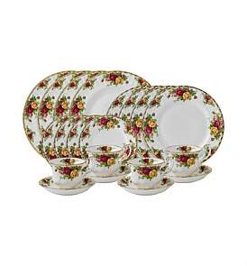 Royal Albert Old Country Roses 20 Piece Dinner Set