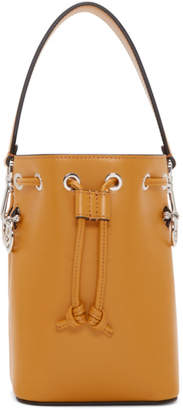 Fendi Yellow Mini Mon Tresor Bucket Bag