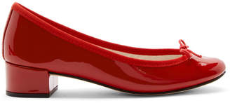 Repetto Red Patent Camille Ballerina Heels