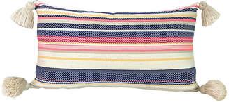 Gaia Aimee 11x19 Tassel Pillow - Denim
