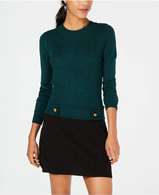 BCX Juniors' Colorblocked Sweater Dress