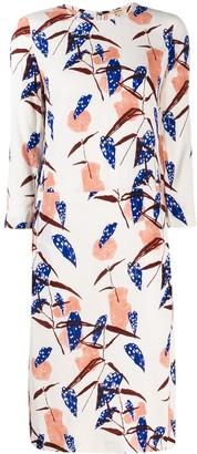 Bellerose floral midi dress