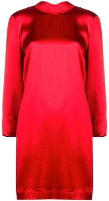L'Autre Chose high neck shirt dress