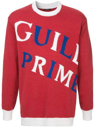 GUILD PRIME brand print sweater