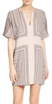 Women's Bcbgmaxazria Scarf Print Dress $228 thestylecure.com