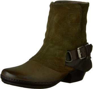 Miz Mooz Women's Evelyn Boot with Buckle Accent